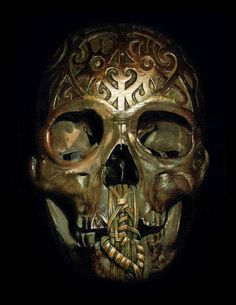 Carved Skull  by Voss Fineart