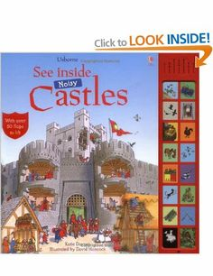 See Inside Castle: With Sounds See Inside Usborne See Inside: Amazon.co.uk: Katie Daynes, David Hancock: Books