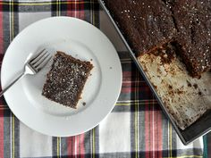 Triple Gingerbread Cake | Serious Eats : RecipesWith molasses, ground ginger, fresh ginger, and candied ginger.