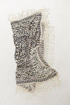 fringed gradation scarf - spring/summer 2014