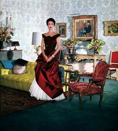Babe Paley. c. 1950s.