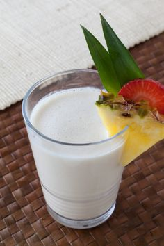 Coconut Pina Colada Cocktail