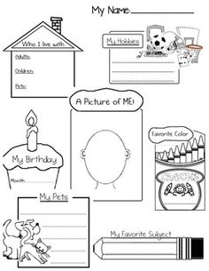 First Day- Student Activity Packet!