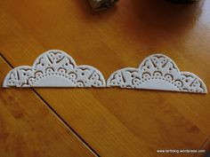 Tutorial - lace doilies