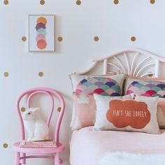 Gold Dot bedroom