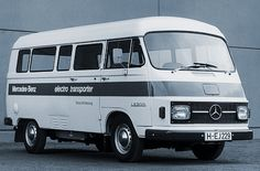 Mercedes-Benz LE 306 Elektro-Transporter (Versuchfahrzeugzeug 1972)
