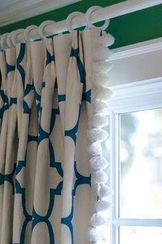 Menlo Park Remodel - contemporary - curtains - san francisco - Evars + Anderson Interior Design -- Kids room