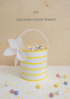 DIY Upcycled Easter Basket - northstory.ca