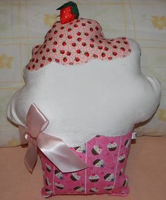 Almofada cupcake...