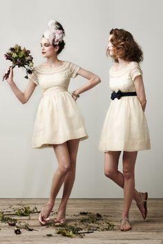bhldn #short #dress #wedding