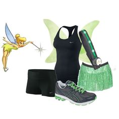 Tinkerbell Night Run, created by me :)