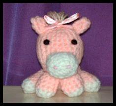 Crafty Things: Amigurumi Pony