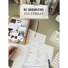newly organized pinterest boards (and how I did it)....a good how to on moving pins to a different board....