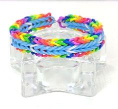 Rainbow-Dash-Friendship-Bracelet-Brony-Monster-Rainbow-Dash-Bracelet-Handmade