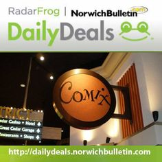 Jim Carrey, Robin Williams, Eddie Murphy... All the greats knew it. The secret to comedy is timing.  That said, until Feb. 21, we're offering two amazing voucher deals for COMIX at Foxwoods Comedy Club!  Click here for discounted tickets: http://dailydeals.norwichbulletin.com  Not valid with any other COMIX promotion.