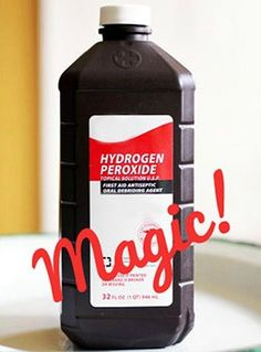 30 Surprising Uses for Hydrogen Peroxide