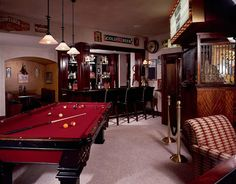 Great game/movie/bar room! Love it!
