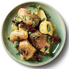 Lemon-Herb Potato Salad at only 75 calories a serving