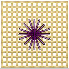 The Rhodes Stitch: Rhodes Octagon, Rhodes Octagon or Rhodes Circle