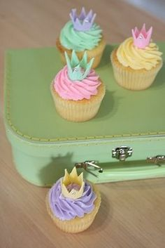 crown cupcakes how easy