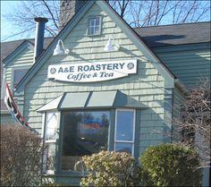 A & E Roastery, 135 Route 101A, Amherst, NH.  www.aeroastery.com