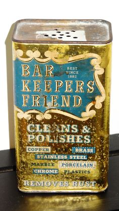 Another Vintage can of Barkeepers Friend