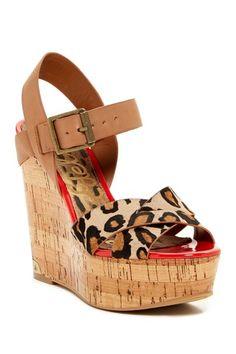Sam Edelman Sasha Platform Wedge Sandal by Non Specific on @HauteLook
