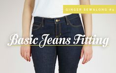 Fitting jeans / pant