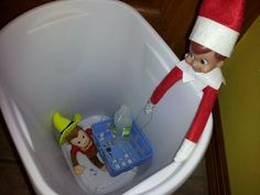 "Elf on the Shelf - Silence of the Lambs  ""It rubs the lotion on the skin"""