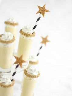 Champagne Chantilly Shooters - Simple Wedding Cakes and Desserts on HGTV