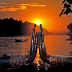 Thailand at sunset
