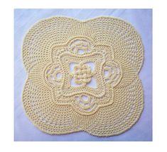 Celtic Knot Doily by Richard Sechriest