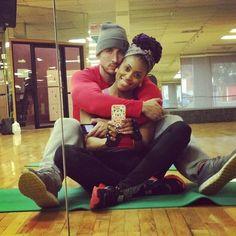 Love interracial couples!