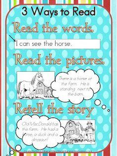 Mrs. Miner's Kindergarten Monkey Business: Daily 5: Read to Self in Kindergarten Plus a freebie!