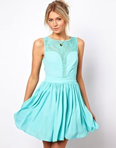 option for wedding guest dress... love this color. dress from asos