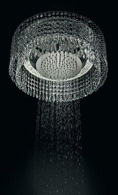 Chandelier Shower...how glamorous!