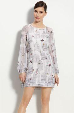 Ted Baker London Birdcage Print Dress