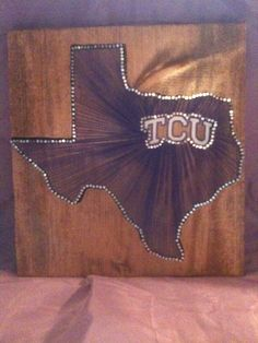 TCU String Art - gotta have it