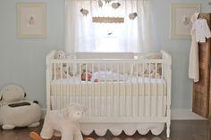 Jenny Steffens Hobick: Emma's Nursery | Soft  Cuddly Nursery | Pale Blue  Cream Lambs  Sheeps