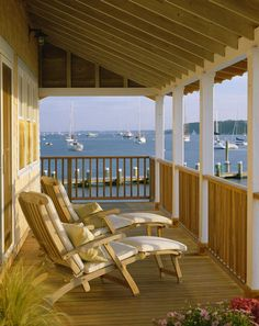 A porch with a view...