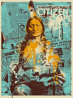graphic design, gig poster