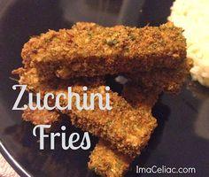 Gluten Free Zucchini Fries