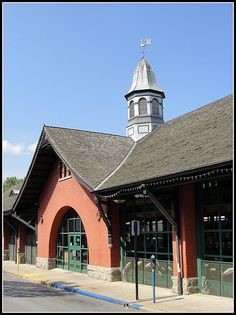 West Virginia ~ Wheeling  1850's Centre Livestock Market, Wheeling, Ohio County, West Virginia.