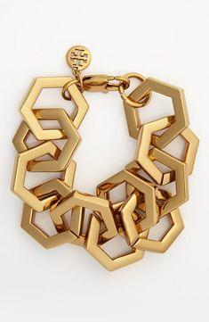 Link chain bracelet.