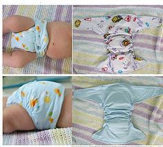 Easy Homesteading: Free Classic Cloth Diaper Adjustable Pattern