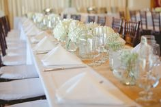 tablescape, simple table settings, rustic spring green wedding, Morrissey Photography