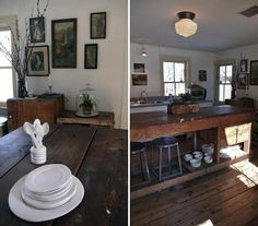 "Schoolhouse Otis 6"" with CU-2265-11-6 shade at Cornwallville Pottery via Remodelista"
