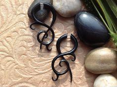 Fake Gauge Earrings