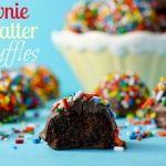 sweet, candi, food, recip, brownie batter truffles