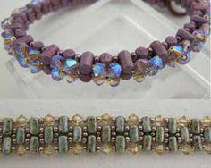 Rock and Roll bracelets using Rulla beads www.thatbeadlady.com